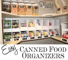 Pantry Ideas DIY Canned Food Storage