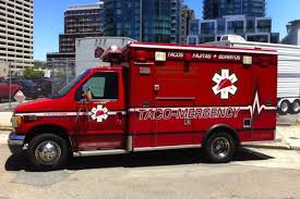 Here's Taco-Mergency, The Fake Taco Ambulance Food Truck - Eater China Emergency Car Ambulance Truck Hospital Patient Transport 2013 Matchbox 60th Anniversary Ambul End 3132018 315 Am The Road Rippers Toy State Youtube Fire Department New York Fdny Truck Coney Island Stock Amazoncom New Tonka Lights Siren Sounds Rescue Force Red File1996 Hino Ranger Fd Ambulance Rescue 5350111943jpg Standard Calendar Warwick Calendars Sending Firetrucks For Medical Calls Shots Health News Npr Chevrolet Kodiak Indianapolis And Cars Isolated On White Background Military Items Vehicles Trucks