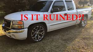 MYTHS ABOUT LOWERED TRUCKS! IS MY TRUCK RUINED? - YouTube