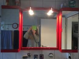 spiegel rot badezimmer ausstattung und möbel ebay