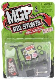 Amazon Tech Deck Scooter by Amazon Com Mgp Big Stunts Mini Finger Scooter Black Toys U0026 Games