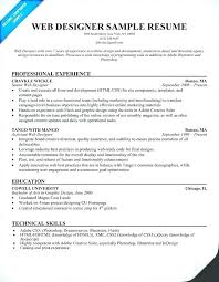 Web Designer Resume Free Download April Onthemarch Co