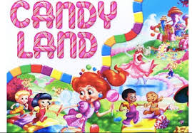 Candyland Game Board Template Happy