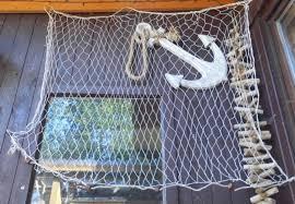 maritime wanddekoration netz fischernetz meer deko netz 1 5 x 1 mtr