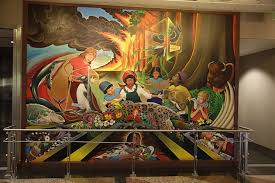 Denver Airport Murals Conspiracy Theory by Are Airport Conspiracy Theories Denver U0027s Greatest Work Of Public