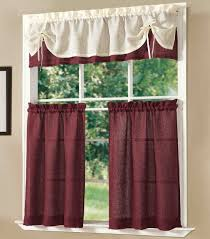 Wine Themed Kitchen Set by Wine Themed Kitchen Curtains With Grape Tier And Valance Set
