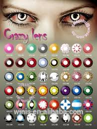Cheap Prescription Colored Contacts Halloween by Anime Naruto Cosplay Crazy Colored Contact Lenses Wholesale