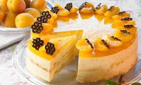 aprikosen quark torte