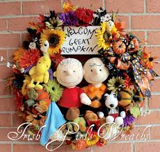 Linus Great Pumpkin Image by Irish U0027s Wreaths Where The Difference Is In The Details