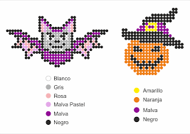 Halloween Hama Bead Patterns by Ideas Infantiles Halloween Papelisimo Manualidades Infantil