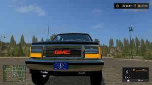 100 One Ton Truck 1992 GMC SIERRA ONE TON TRUCK V10 FS17 Farming Simulator 17 Mod