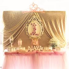 Pink And Gold Birthday Themes by Princess Birthday Party Ideas Princess Birthday Princess And