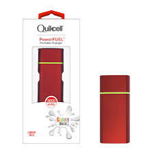 Color Burst PowerFUEL 3000 MAh Portable Charger Liquid Red