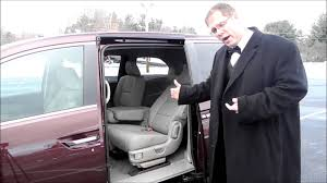 removing the center row seats on a honda odyssey youtube