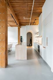 100 The Candy Factory Lofts Toronto StudioAC Links Loft Interiors With Arched Hallways In