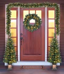 Rite Aid Pre Lit Christmas Trees holiday time christmas decor pre lit 5 piece entryway set clear