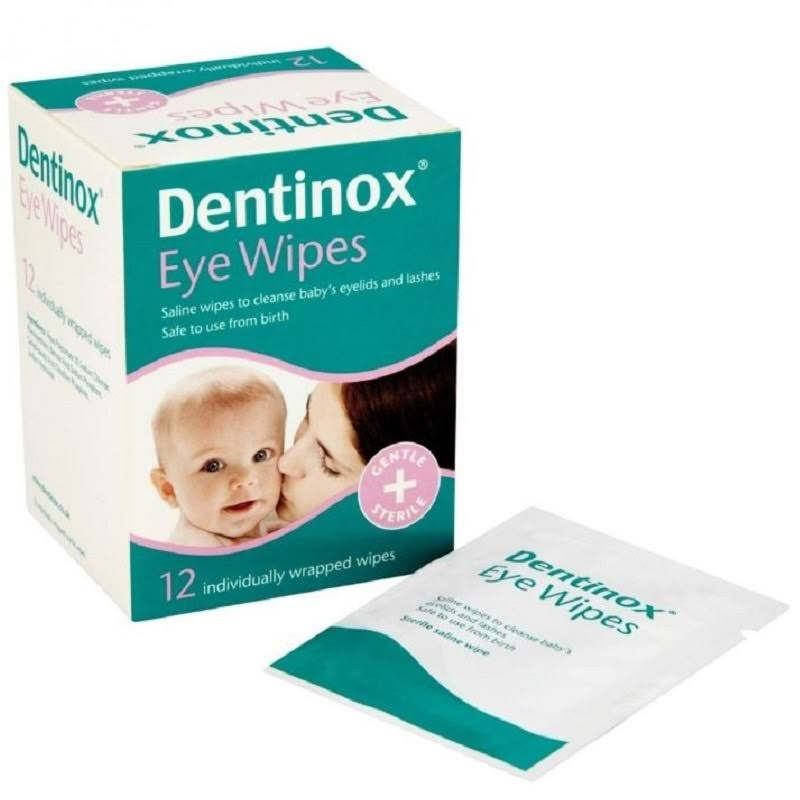 Dentinox Baby Eye Wipes - 12pk