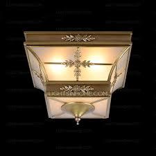 brass material vintage style kitchen flush mount ceiling lights