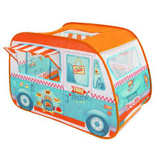 100 Toy Ice Cream Truck Childrens Pop Up Play Tent Designed Like A Food Van