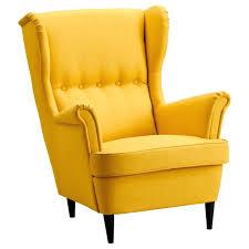 fauteuil fauteuil contemporain moutarde dossier haut
