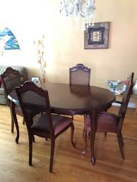 Best Solid Cherry Wood Dining Table & 4 Chairs For Sale In Etobicoke ... 90 Off Bernhardt Embassy Row Cherry Carved Wood Ding Darby Home Co Beesley 9 Piece Buttmilkcherry Set 12 Seater Cherrywood Table And Chairs Christophe Living Fniture Of America Brennan 5piece Round Brown Natural Design Ideas Solid Room House Craft Expandable Art Deco With Twelve 5 Wayfair Wood Ding Set In Ol10 Rochdale For 19900 Sale Shpock Regular Height 30 Inch High Table Black Kitchen Sets For 6 Aspenhome Cambridge 7pc Counter Leg