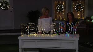 Qvc Christmas Tree With Remote by Kringle Express Indoor Outdoor Illuminated Holiday Messages On Qvc