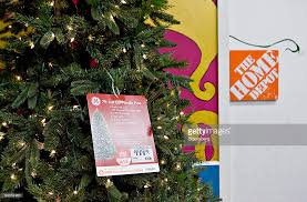 Ravishing Christmas Trees At Home Depot Extraordinary Martha Stewart Living 9 Ft Pre Lit LED Sparkling Pine Quick Set Image Gallery Collection