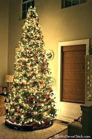 10 Foot Tall Christmas Tree Artificial Trees Holidays Wizard Unlit White Ft Uk