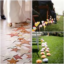 Wedding Ceremony Aisle Decorations