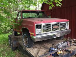 1986 GMC Sierra K10 4x4 Project/ Parts Truck In Michigan | K5 BLAZER ...