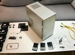 lian li pc q26a mini itx gehäuse mit backplanes für 6 sata platten ideal für nas
