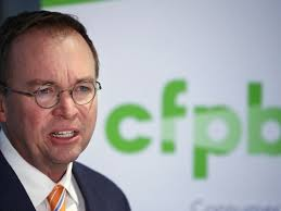 us consumer protection bureau what does mulvaney s appointment for the future of cfpb