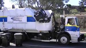 Waste Management San Diego Christmas Tree Recycling by Daily Disposal Services Labrie And Heil Garbage Trucks Youtube