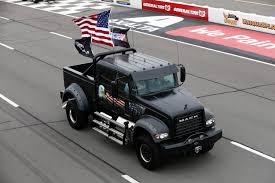 Mack Trucks' 'Jack' Leads Ceremonial Laps At NASCAR's Pennsylvania ...