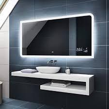 badspiegel 120x80cm mit led beleuchtung wählen sie zubehör