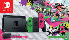 Transport Chair Walmart Canada by Nintendo Switch Splatoon 2 Bundle Now Available At Walmart Canada