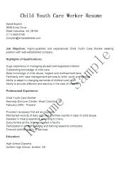 Sample Child Care Resume Daycare Teacher Simple Assistant Objective Also
