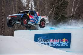 Red Bull Frozen Rush 2016 Pro 4 Truck Race POV Video