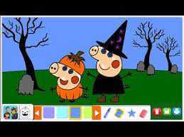 Halloween Nick Jr Coloring BOOK Game