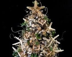 Beach Christmas TreeNautical TreeShell TreeBeach DecorationOcean DecorShell DecorationsBeach Trees