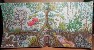 This Is From Johanna Basfords Enchanted Forest Book Using A Mix Of Spectrum Noir Pencils And Prismacolor