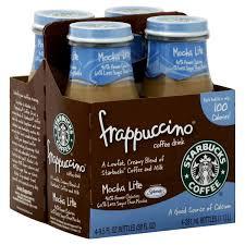Starbucks Mocha Frappuccino Light Made With Splenda