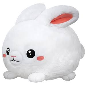 Squishable Fluffy Bunny 15""