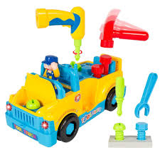 100 Vtech Hammer Fun Learning Truck Amazoncom Fully Equipped Tool Toy For Kids With Ctioning