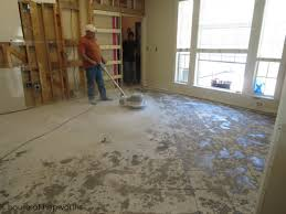 Thinset For Porcelain Tile On Concrete by The Best Way To Remove Thinset From A Cement Foundation