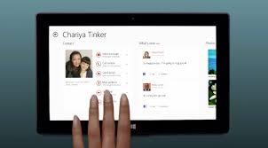 gadget de bureau windows 8 microsoft tue l application skype de windows 8 1 au profit de la
