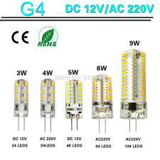 10x g4 led l bulb 12v 3w led capsule bulb replace halogen bulb
