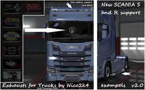 EXHAUSTS & TUNING PARTS FOR TRUCKS V2.0 1.30 TUNING MOD - ETS2 Mod Spare Parts For Trucks Buses Tractors And Cars Gearbox Differential Home Japanese Truck Replacement Parts Isuzu Trucks Mitsubishi All In One Place Cab Peterbilt Kenworth Freightliner Volvo Mack Ford New Car Bus Trailer Suspension Euro Simulator 2 Mods Tuning All V 20 Fleet Com Distributes Used Aftermarket Flashback F10039s Arrivals Of Whole Trucksparts Or Craigslist For Sale In Rgv Best Resource The Pro Stock Tour Photo Album Speedway660 Mini Accsories