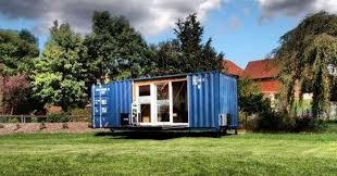 schiffscontainer haus seecontainer umbauen zum tiny house