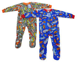 Prince Of Sleep Flannel Blanket Sleepers (pack Of 2) Fire Truck And ...